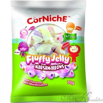 Маршмеллоу мини CorNiche Fluffy Jelly 70 г.